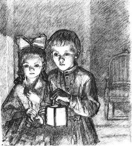 К какой главе относится рисунок детство никиты