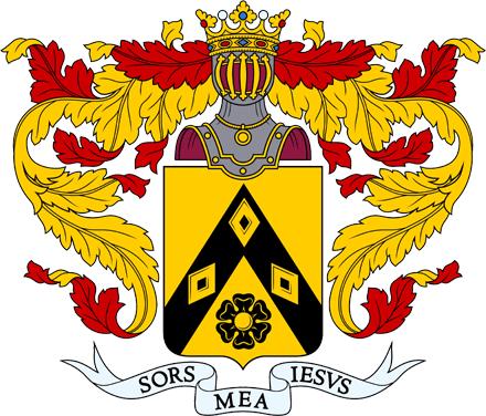 Шотландский герб Лермонтов, ставший гербом рода Лермонтовых